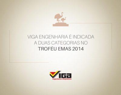 Viga Engenharia é indicada ao Troféu Emas 2014