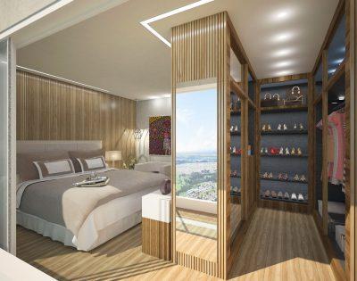 Duplex - Suíte Master com Closet